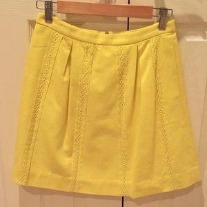 ☀️ Beautiful sunshine yellow J. Crew skirt☀️